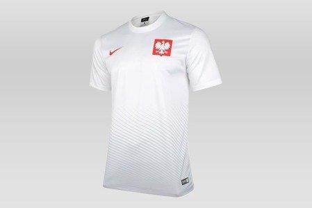 KOSZULKA NIKE POLSKA EURO 2016 H SUPPORTERS JUNIOR (846807-100)