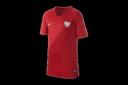 Koszulka Nike Polska WC 2018 A Breathe Stadium Junior (894014-611)