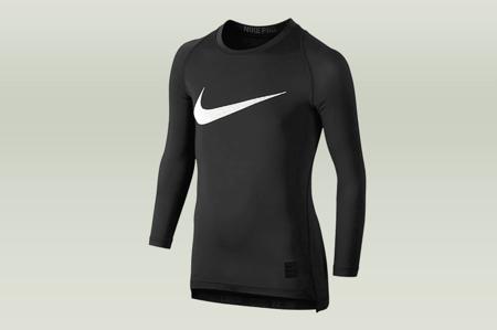 Koszulka kompresyjna Nike PRO LS Junior (726460-010)
